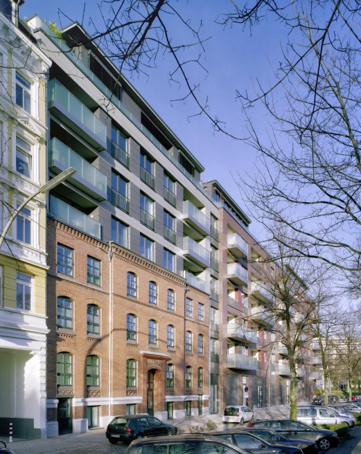 Bülauquartier Lange Reihe | Hamburg | 2011