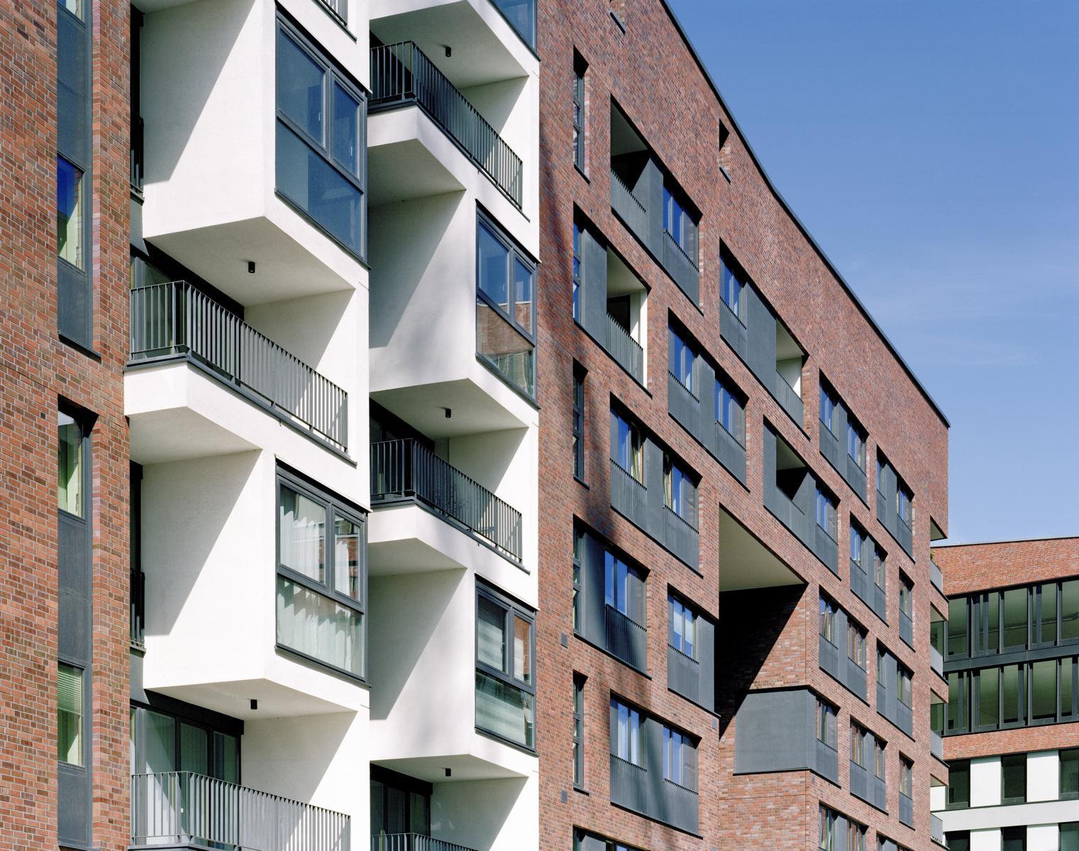 Wohngebäude Pacamara, Hafencity Hamburg