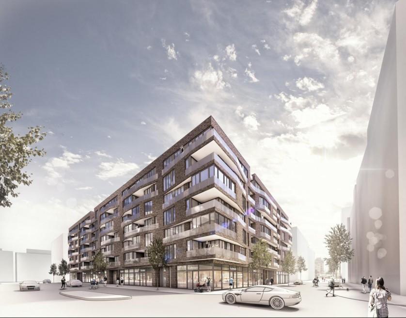 Überseequartier Hafencity- Baufeld 34/16 | Hamburg | 2012