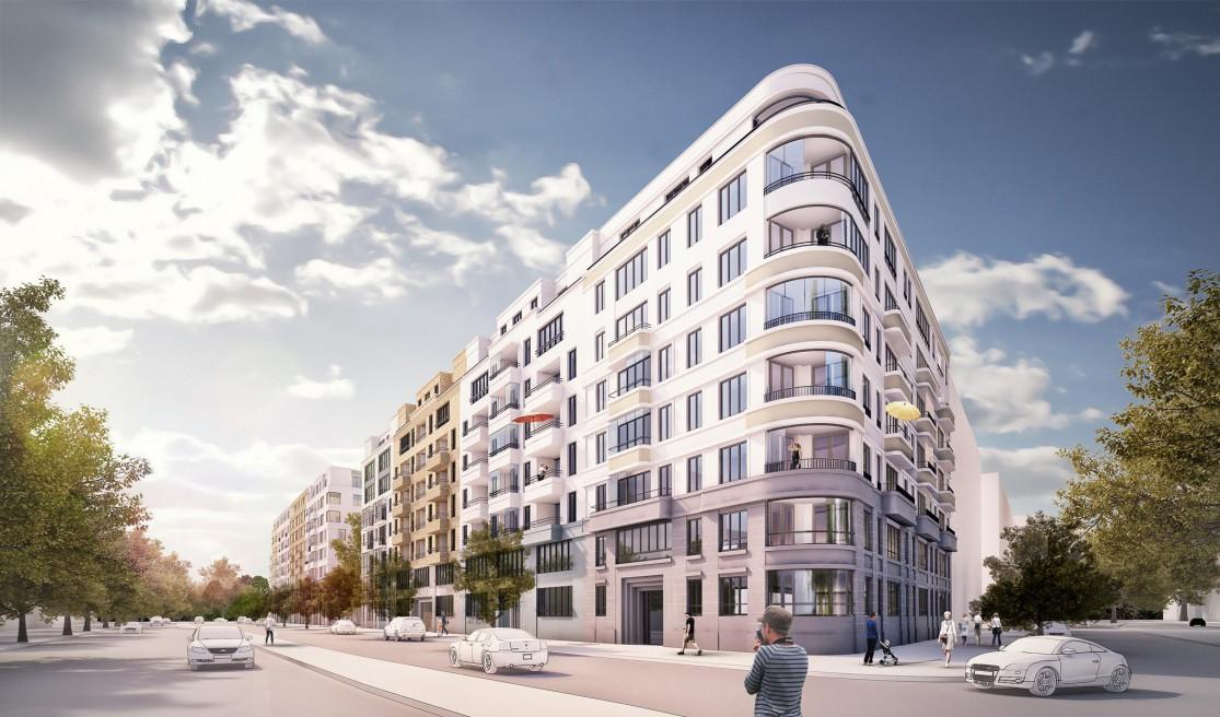 residential buildings in Frankfurt | 2014