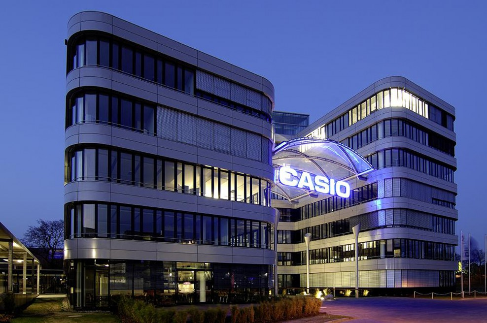CASIO logistics center | Norderstedt | 2009