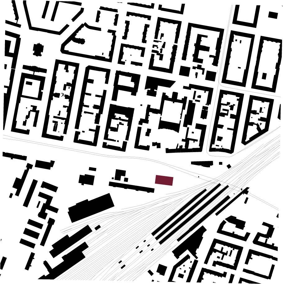 Schwarzplan ohne Linien