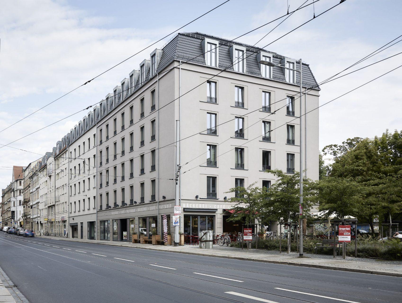 Uninest Albia Dresden / Studentenwohnheim