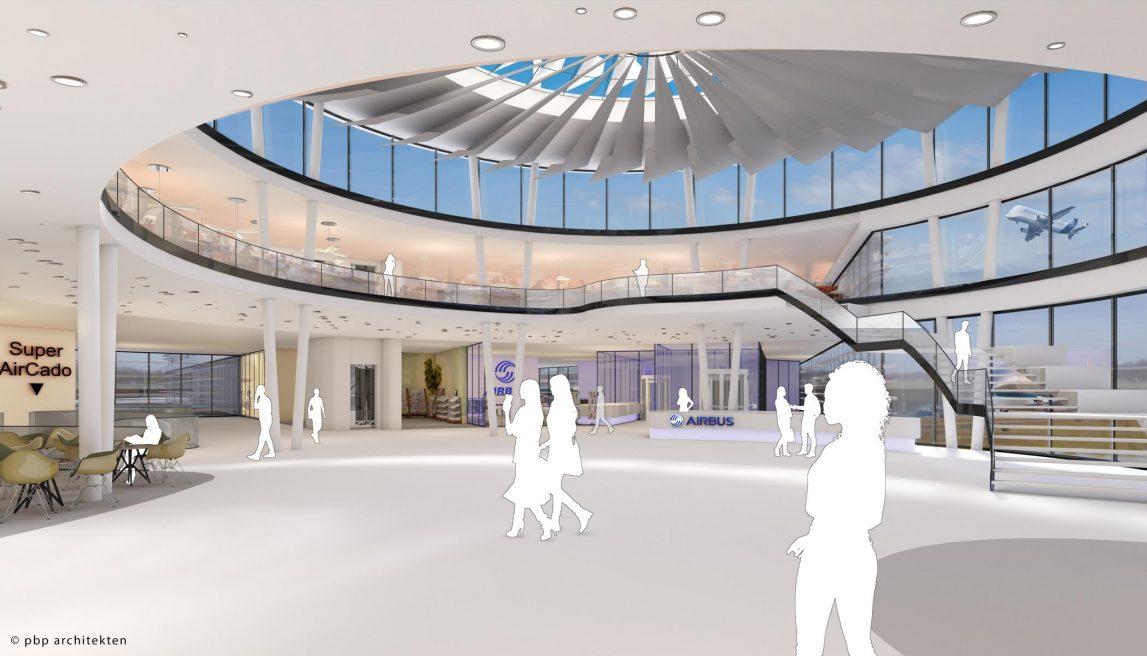 Airbus service center Hamburg Finkenwerder | 2017