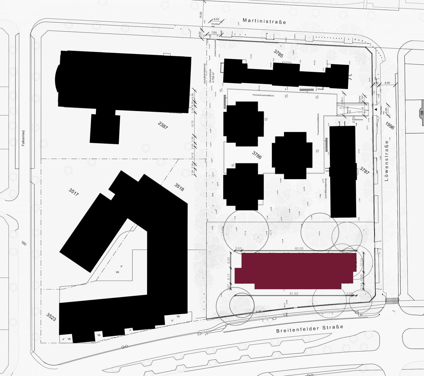 34-OTTO WULFF Übersichtsplan Städtebau Var. 2